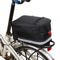 BIKIGHT 6L Bicycle Tail Bag Sport Waterproof Bike Seat Pouch Cycling Rear Basket