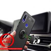 Bakeey Shockproof Magnetic Adsorption Protective Case with Finger Ring Holder for Xiaomi Redmi Note 7 /Redmi Note 7 PRO