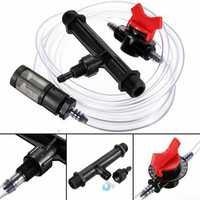 Water Drip Irrigation Filter Whole House Pvc Sand Separator 1 Sediment Sprinkler Well Lawn Sprinkler