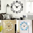 Acheter au meilleur prix 12 Frame Photo Wall Clock Modern Nordic Style Living Room Home Decor