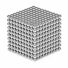 Meilleurs prix 1000PCS Per Lot 5mm Magnetic Buck Ball Magnet Silver Intelligent Stress Reliever Toys Gift