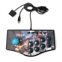 USB Fight Arcade Joystick Gamepad Rocker Game Controller For PS3 Android PC