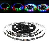 LUSTREON 1M 2M 3M 4M 5M Non-waterproof IC UCS1903 Programmable Magic Color LED Strip Light DC12V