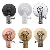 E27/E26 Modern Edison Vintage Ceiling Light Wall Lamp Bulb Holder Socket Sconce