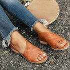 Acheter au meilleur prix Large Size Women's Sandals Slip On Casual Shoes