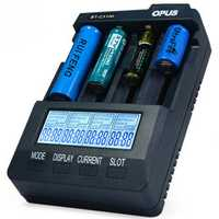 Opus BT-C3100 V2.2 4Slots LCD Display Smart Intelligent Universal Battery Charger