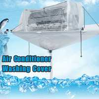 Totally Enclosed Type Air Condition Cleaning Washing Tool Cover Ceiling Wall Mounted PVC For Up to 3HP Type