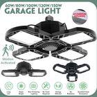 Most Popular 60/80/100/120/150W Deformable LED Garage Light Deformable Basement Light