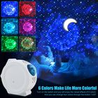 Recommandé Voice Control Sky Projection Lamp Spherical Rotating Led Romantic Starry Lights Moon and the Stars Projector