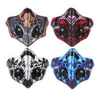 BIKIGHT Anti-haze Mask Bicycle Sports Protect Road Cycling Mask Face Cover Protection