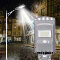 60W 120W 160W LED Solar Street Light PIR Motion Sensor Outdoor Garden Wall Lamp