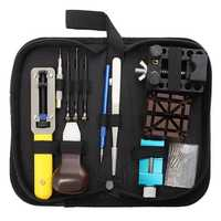 20Pcs Watch Tool Set With Black Carrying Case