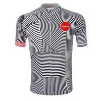 Unisex Outdoor Polyester Riding Cycling Short Sleeve Bicycle Jersey MTB Bike Sports Clothing Summer