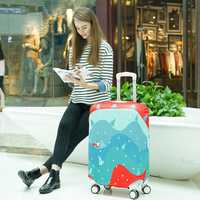 Honana HN-LB03 Luggage Cover Elasticity Trolley Dustproof Suitcase Bag Travel Suitcase Protector Cover