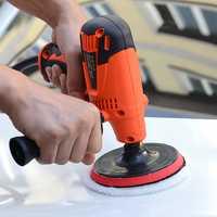 220V 800W Electric Polisher Variable 6-Speed Buffer Sander Kit Polishing Machine