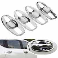 Car Door Handle Bowl Covers Trim Inserts Chrome for NISSAN ROGUE 2014 2015 2016