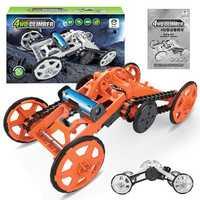 SUBOTECH DIY 005 Four Wheel Drive Climbling Car Robot Model Toys For Kids Educational Puzzle
