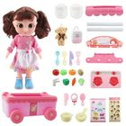 Acheter au meilleur prix Tairedie T1001B Pretend Play Kitchen Toys Set Doll Dressing Bag Chef Engineering Clothes With Packaging