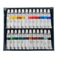 H&B HB-AP24 Professional 24-Color Propylene Pigment Hand-Painted Set Wall Painting DIY Watercolor Paint Set