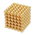 Les plus populaires 1000PCS Per Lot 5mm Magnetic Buck Ball Magnet Gold Color Intelligent Stress Reliever Toys Gift Gold