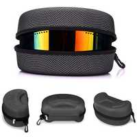 Snow Ski Snowboard Goggles Glasses Protection Carrying Case Zipper Box Holder