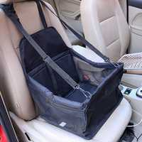 Yani Portable Foldable Pet Safety Travel Car Safe Pet Cat Dog Front Seat Carrier Waterproof Hanging Mesh Bag