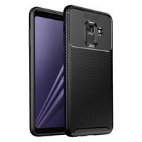 Bakeey Protective Case For iPhone A8 Plus 2018 Slim Carbon Fiber Fingerprint Resistant Soft TPU