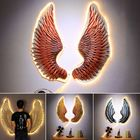 Offres Flash Iron Angel Wings Wall Lamp Hanging Mounted Art Bar Home Decor