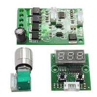 6V-24V 3A Speed Control CW CCW Motor Driver Time Controller