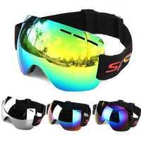 Motorcycle Goggles Anti-fog UV Skiing Snowboard Racing Sunglasses Snow Mirror Glasses