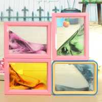 Moving Sand Picture Frame Glass Picture Home Office Quicksand Table Decor Birthday Gift