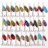 ZANLURE 30pcs Kinds of Fishing Lure Crankbaits Hooks Spinner Baits Assorted Tackle