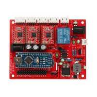 Original 3018 CNC Router 3 Axis Control Board GRBL USB Stepper Motor Driver DIY Laser Engraver Milling Engraving Machine Controller