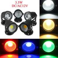 12V 3.5W Garden Lawn Waterproof Flood Lamp Outdooors Super Bright Spot Lightt