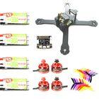 Meilleur prix Realacc X210 4mm Frame RC Drone w/ F3 6 DOF Racerstar BR2205 2600KV Motor RS30A V2 Blheli_S 5X4X3 Prop