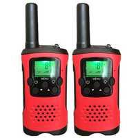 1Pairs KALOAD T48 Mini Ultra Thin Walkie Talkie Intercom Driving Hotel Civilian Christmas Travel