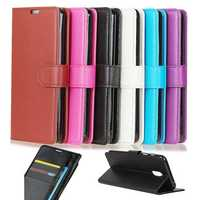 Flip Litchi Pattern Wallet Card Slot Stand PU Leather Full Body Case For DOOGEE BL5000