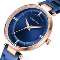 MINI FOCUS MF0235L Casual Design Steel Women Quartz Watch
