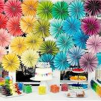 Christmas 12 Colors DIY Decorations Flower Comb Ball Party Pendant & Drop Ornaments Supplies