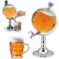 KCASA KC-WD917 Globe Style Novelty Fill Up Gas Pump Bar Wine Decanter Alcohol Liquor Dispenser