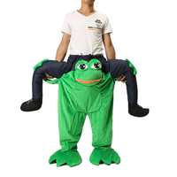 Adult Costumes Halloween Costume Funny Fancy Dress Sexy Cosplay Frog Pants With False Human Legs