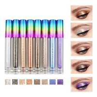 8 Colors Colorful Shimmer Glitter Liquid Eye Shadow