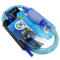 BY-28 Aquarium Sweeper Changing Water Device Sand Aquarium Cleaning Tools Fish Tank Hose Changer