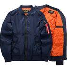 Bon prix Plus Size XS-6XL Bomber Jacket Fashion Casual Flight Jacket