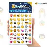 28Pcs IOS9.1 HD Emoji Expression Containing 1300 Emoji Stickers Affixed To the Wall Face