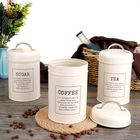 Acheter au meilleur prix 3Pcs Storage Tanks Canister Tea Coffee Sugar Tin Jar Stainless Steel Container Can Kitchen