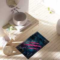PAG 3D Bathroom Anti Slip Break Pattern Floor Sticker Waterproof Washable Shower Room Decor