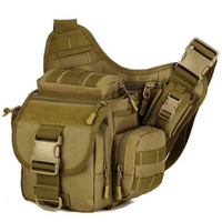 Hunting Tactical Waist Bag Military Camouflage Molle Kettle Bag Walkie Talkie Pistop Holster Storage Pocket