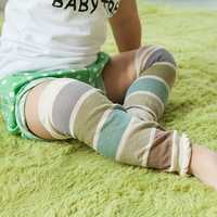 Baby Kids Cotton Crawling Knee Protector Children Breathable Anti-Mosquito Leg Warmer