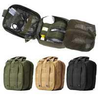 IPRee® Tactical Molle Bag EMT Medical First Aid Utility Emergency Pouch For Vest Belt